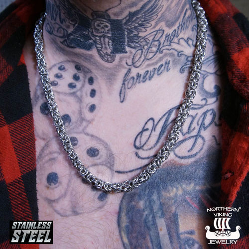 "Northern Viking Jewelry®-Necklace ""Kingchain"""