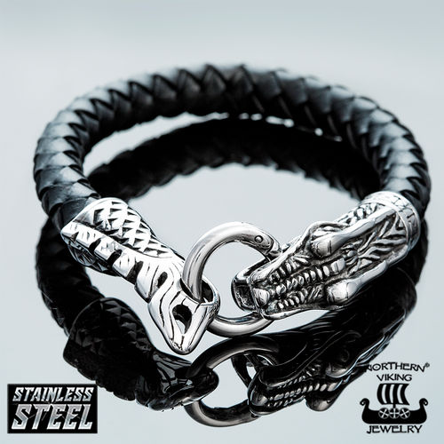 "Northern Viking Jewelry®-Rannekoru ""Dragon Head"""