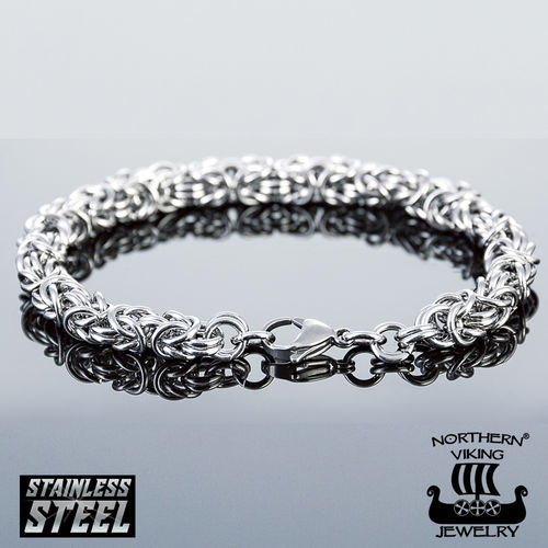 "Northern Viking Jewelry®-Bracelet ""Kingchain"""