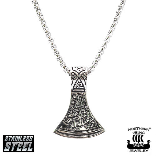 "Northern Viking Jewelry®-Pendant ""Axehead"""