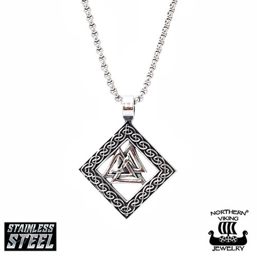 "Northern Viking Jewelry®-Pendant ""Valknut"""