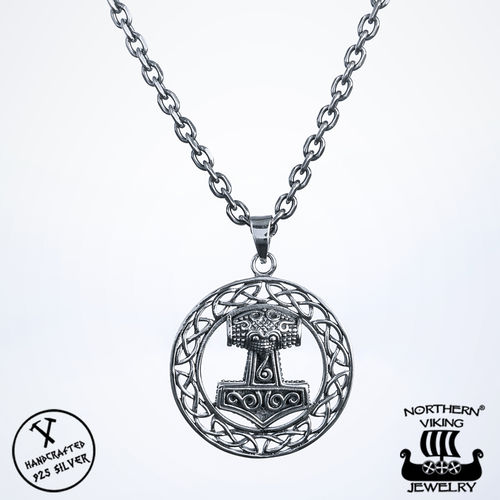 Northern Viking Jewelry® 925-Hopea Raven Thorin Vasara
