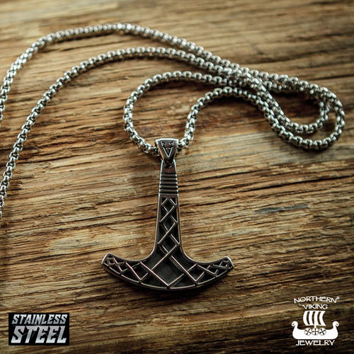 "Northern Viking Jewelry® ""Ukonvasara Riipus By Johan Thorolf"""