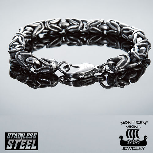 "Northern Viking Jewelry®-Rannekoru ""Byzantine Bracelet"""