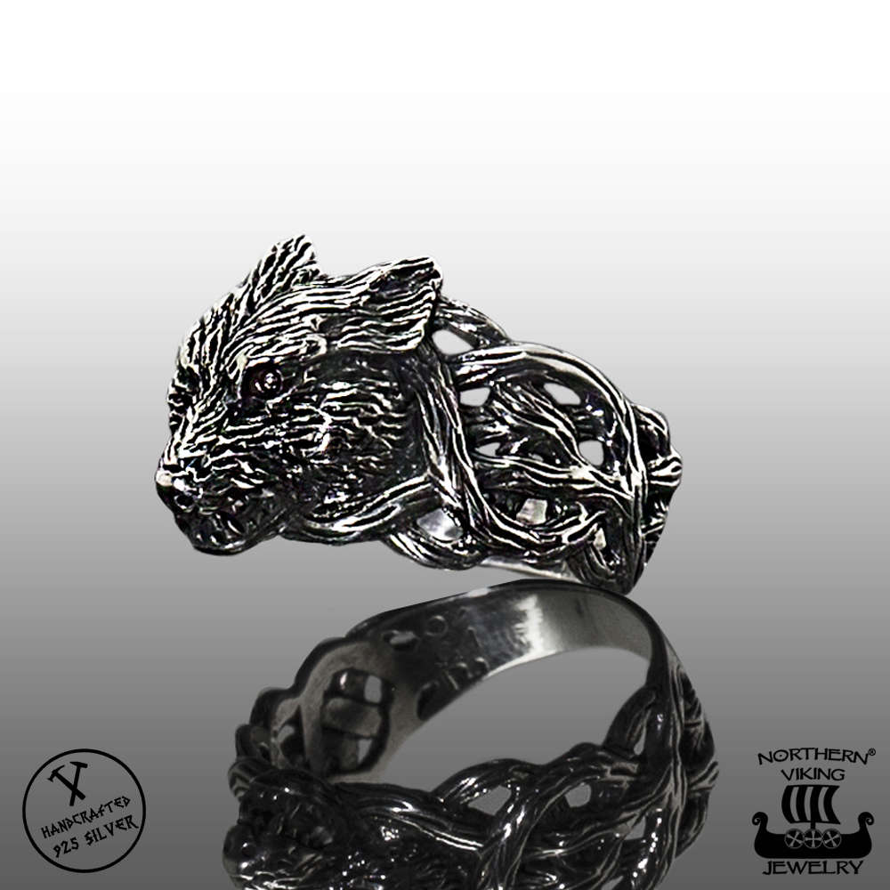 925 Silver Northern Viking Jewelry®-Ring