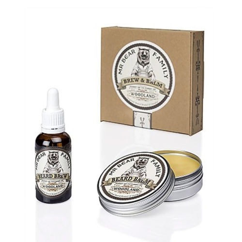 Mr Bear Family Beard Oil & Wax