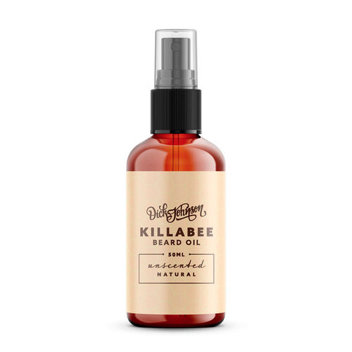 Killabee Unscented Beard Oil 50 ml